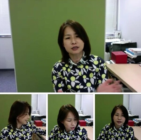 土肥美智子医師は、身近で起きた新型コロナ感染について、体験談を冷静に話してくれた
