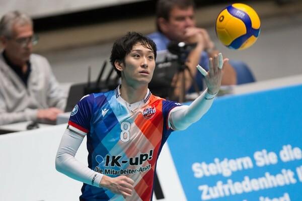 ドイツでプレーする柳田将洋に帰国までの経緯やドイツの状況について話を聞いた