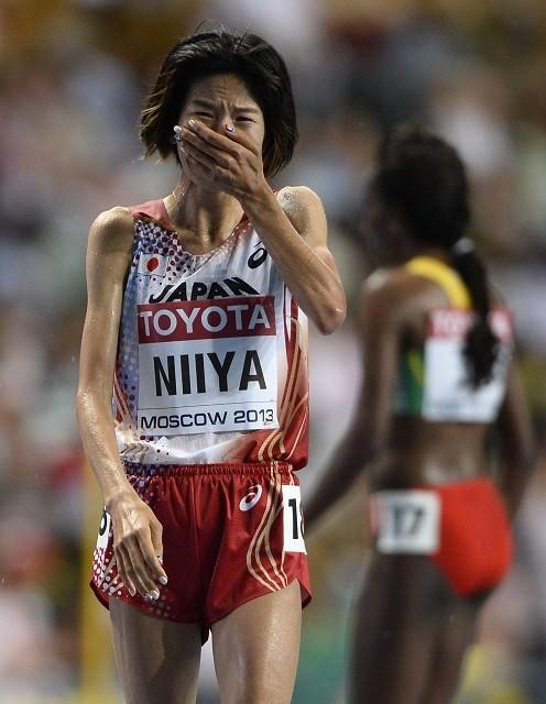 2013年にモスクワで行われた世界選手権では5位。惜しくもメダルに届かず、レース後には号泣した
