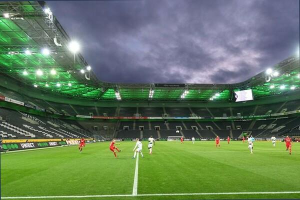 3月11日のボルシアMGvs.ケルンはブンデスリーガ史上初の無観客試合で開催された