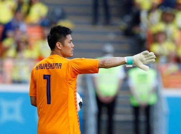 2010年の南アフリカW杯から、3大会連続で日本のゴールマウスを守った川島。W杯を『夢の舞台』と語る