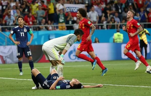 ロシアW杯決勝トーナメント1回戦のベルギー戦。2-3での逆転負けは日本にとって悔しい結果だった