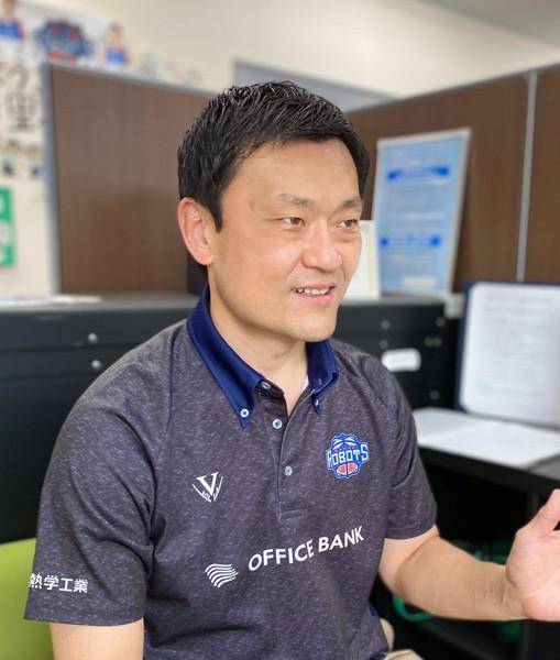 株式会社茨城ロボッツ・スポーツエンターテインメントの山谷拓志代表取締役社長