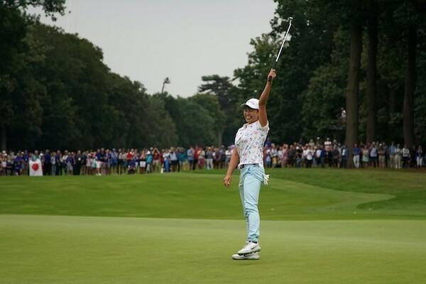 世界のゴルフファンを魅了する『スマイルシンデレラ』