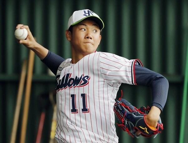 3球団が競合したゴールデンルーキーの奥川は、早期の1軍デビューも予想される