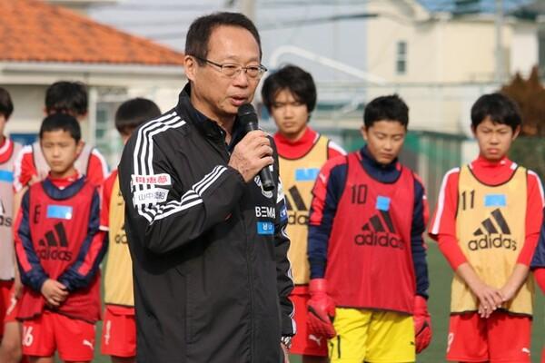 U-14を指導したトレーニング映像をノーカット版でお届け。岡田氏が自ら解説している