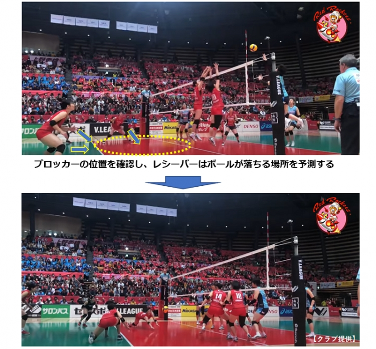 古賀&山田選手が見てほしいポイントとして挙げた「連携」