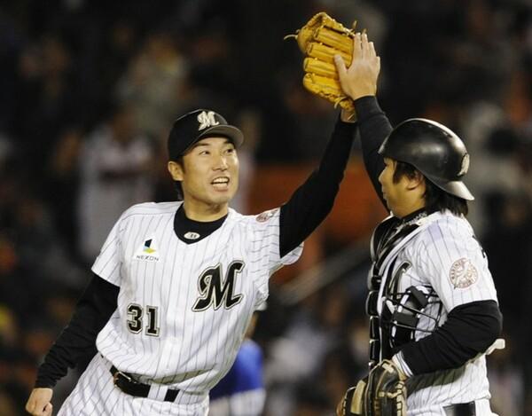 中村氏が審判目線でベストナインに選んだ、渡辺俊介&里崎の千葉ロッテバッテリー
