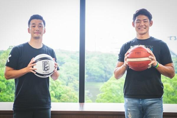 プライベートでも親交があるという田渡選手(写真左)と藤田選手
