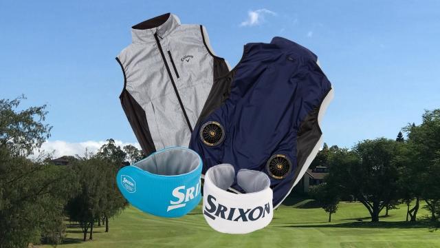 真夏のゴルフがもっと快適に!ゴルファーの「暑さ対策グッズ」