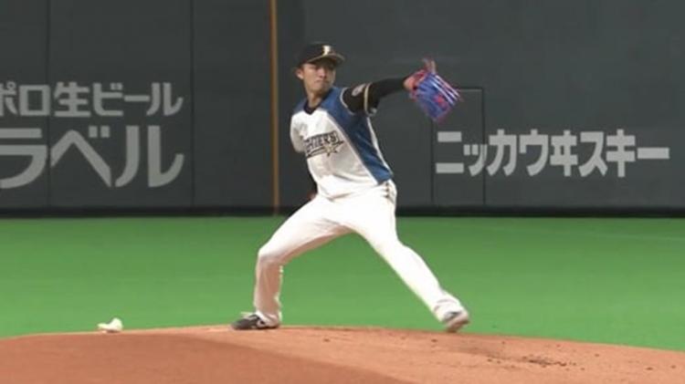 北海道日本ハムファイターズ・上沢直之投手