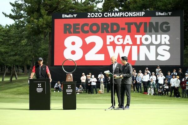 米国PGAツアーの最多勝に並ぶ82勝目を達成
