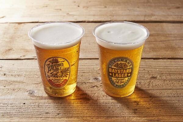オリジナルビール『BAYSTARS ALE』は発売以来、さまざまなフレーバーをリリースしている