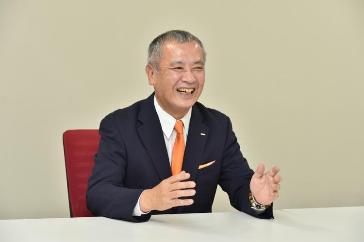 上席執行役員営業本部長山口秀和さん