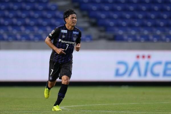 J1最多記録となる632試合出場を達成した遠藤保仁。気負うことなく、いつも通り試合に臨んだ
