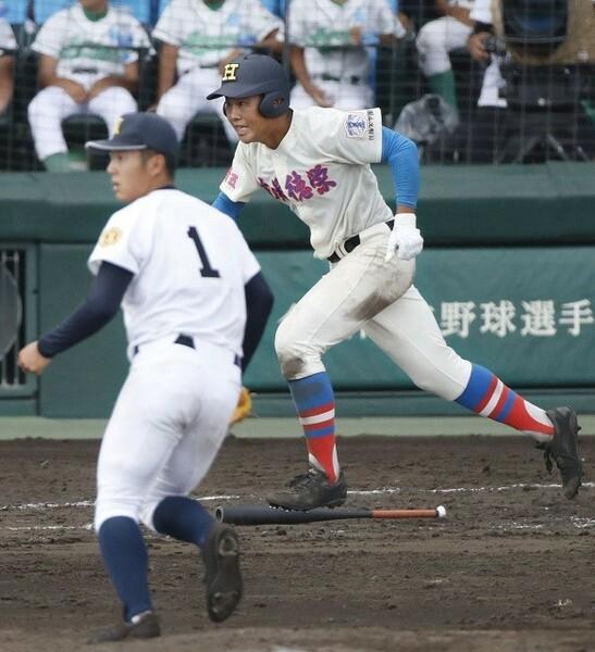 花咲徳栄・井上は高校通算50本塁打越えのスラッガーだ