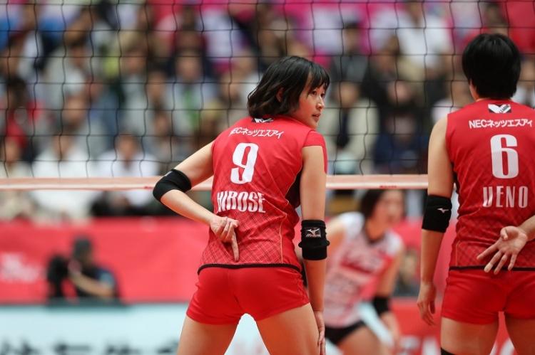 廣瀬選手は連動したブロックディフェンス強化を課題にあげる