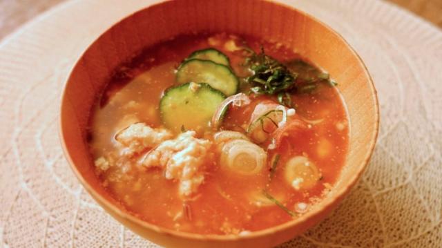 食べることが痩せる近道!さっぱり食べやすい冷や汁のレシピ【痩せる和風スープ】