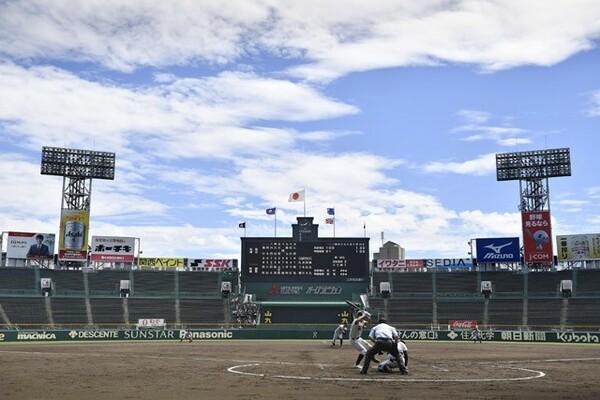 例年の全国高校野球選手権大会が中止となり、「2020年甲子園高校野球交流試合」が行われた今夏の甲子園