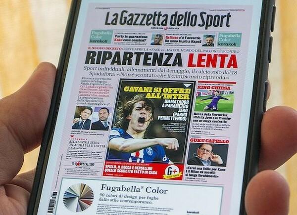 イタリア最古のスポーツ紙ガゼッタは、3大スポーツ紙の中で最も慎重な報道姿勢を持ち、移籍ニュースの信ぴょう性が一番高い