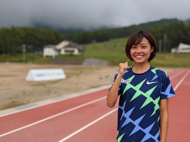 昨年の日本選手権で800メートル、1500メートルの二冠を達成した卜部蘭。日本女子中距離界をけん引する選手として、彼女が切りひらく新たな道とは