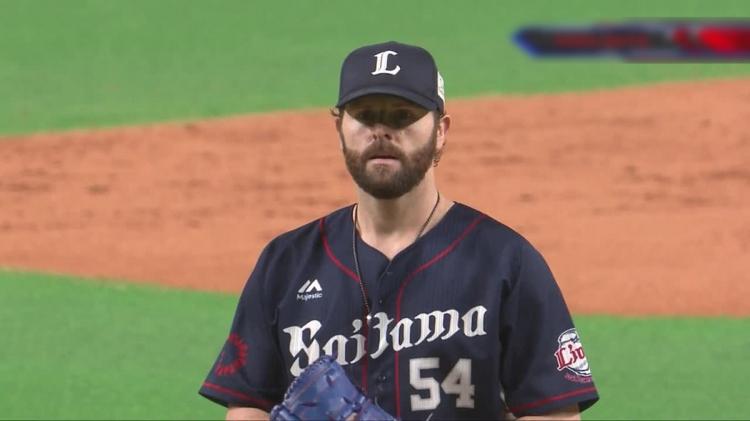 埼玉西武ライオンズ・ニール投手