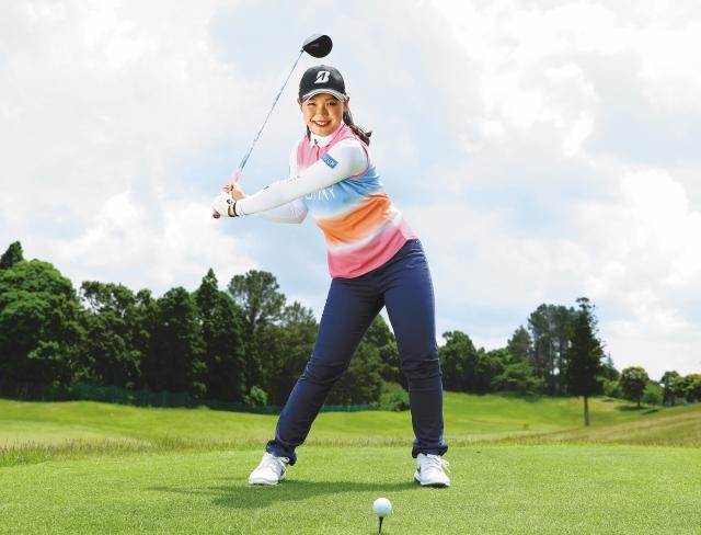 【吉田優利プロが女性ゴルファーに教えてくれる】下半身リードで10ヤードアップ!