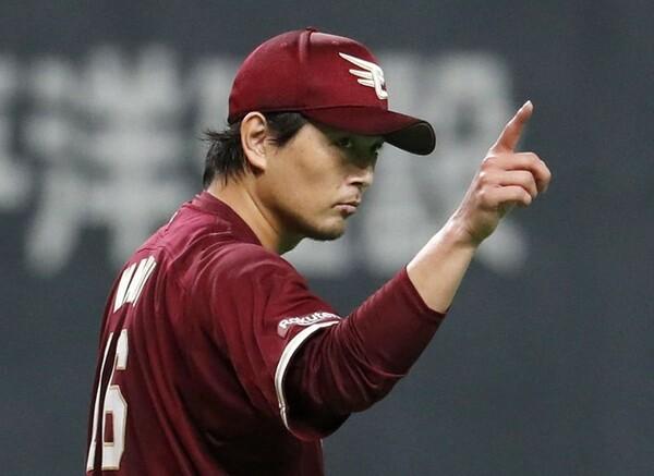 開幕8連勝と、移籍1年目からエースの働きを見せる楽天・涌井