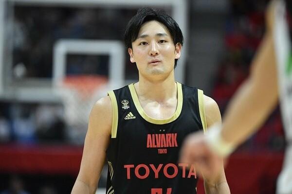 レギュラーシーズンMVPを獲得した田中大貴。日本を代表する選手に成長した