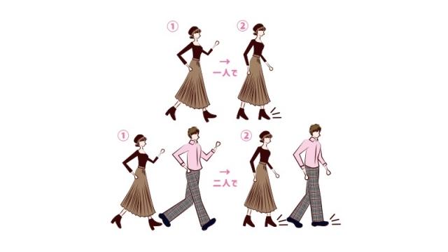 急停止は歩き続けるよりも強い筋肉が必要