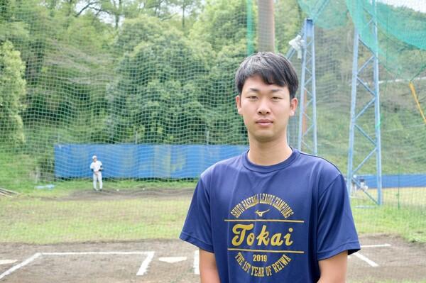 10月8日にプロ志望届を提出した東海大・山崎伊織。社会人野球入りが報じられていた中での進路変更だった