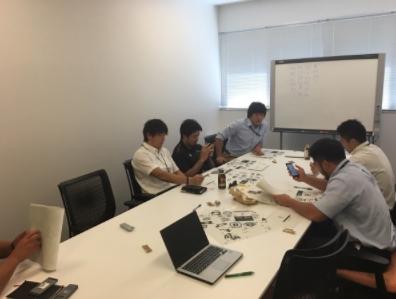 発足当初の会議の様子(2016年6月)