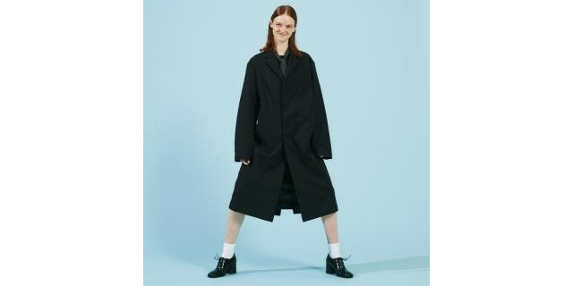 ビジネスからファッションシーンまでマルチに活躍する「NEUTRALWORKS.」のチェスターコートが発売。