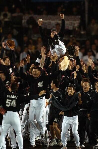 2005年、球団3度目の日本一に輝いた