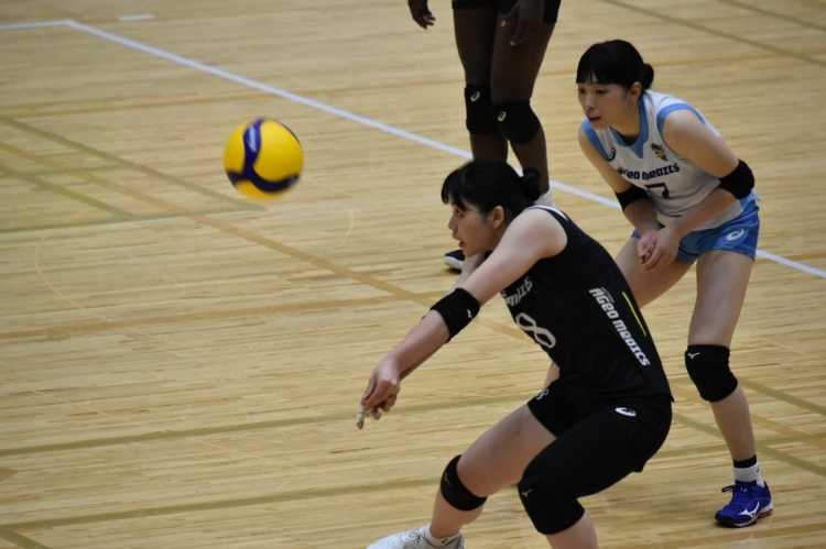 内瀬戸選手に次いで22得点の活躍を見せた吉野優理選手