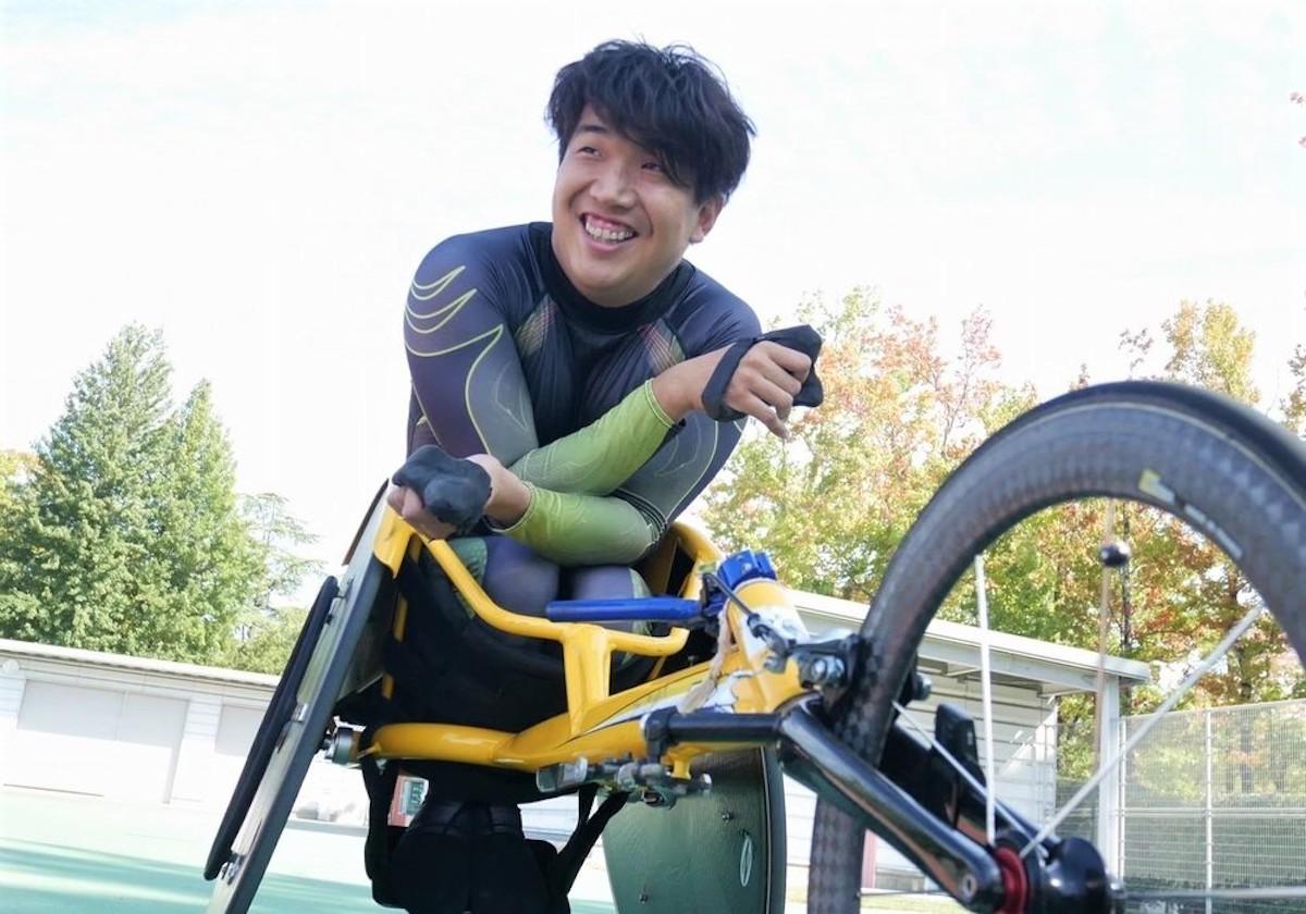 車いす陸上の計4種目で世界記録を持つ佐藤友祈が、競技の魅力と東京パラリンピックでの夢について語った
