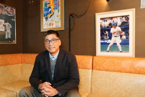"""通算満塁本塁打で歴代5位。""""満塁男""""と呼ばれた駒田徳広は、日本シリーズでも印象的な活躍を見せた"""