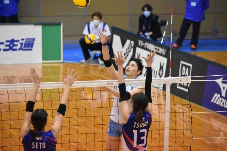 チーム最多の23得点を挙げた吉野優理選手