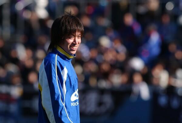 名門・市船で1年時から試合に出場していた増嶋。国見の平山とのライバル対決も注目を集めた