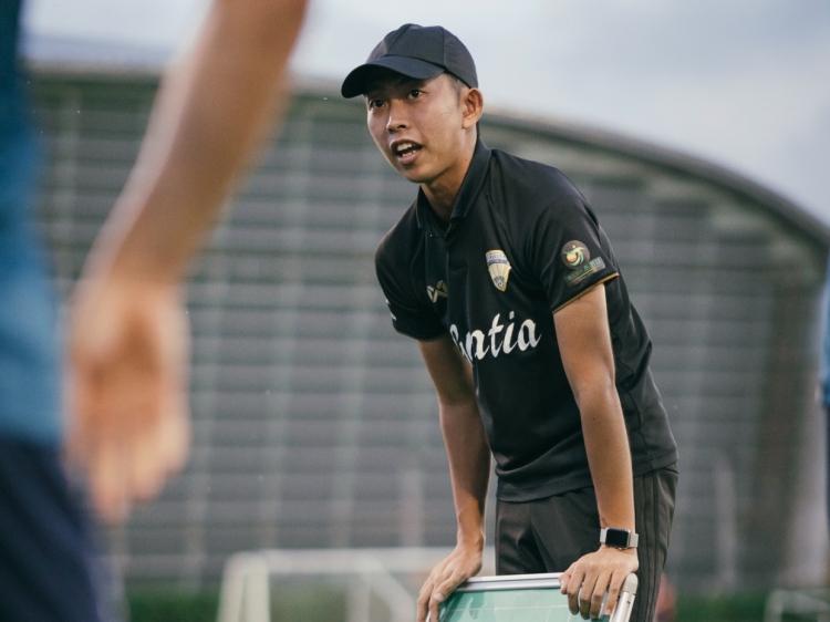 今季からチームを率いる武田航平監督