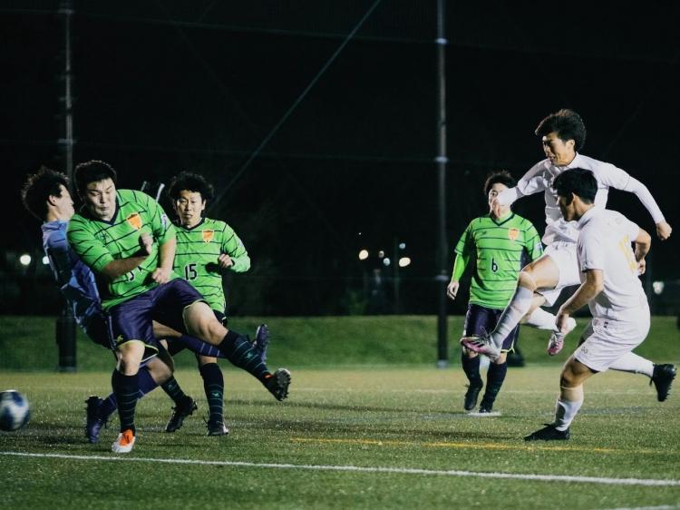 MF渡邊純平のゴールで鎌倉インテルが開始5分で先制点を挙げる