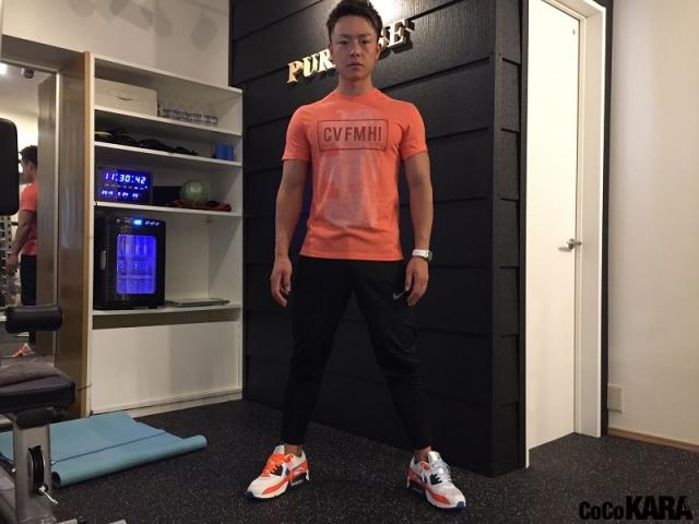 人気パーソナルトレーナーが教える自宅でできる超簡単トレーニング「筋力アップで代謝もアップ。痩せやすい体を手に入れたい!」