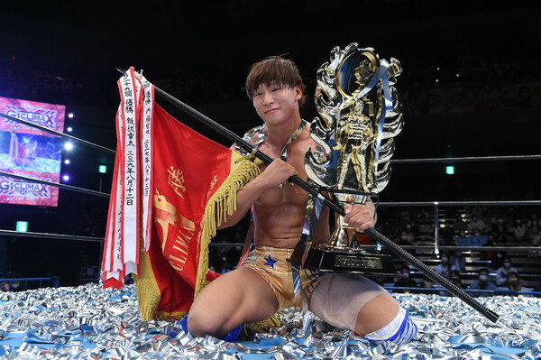G1クライマックスで史上3人目の連覇を達成