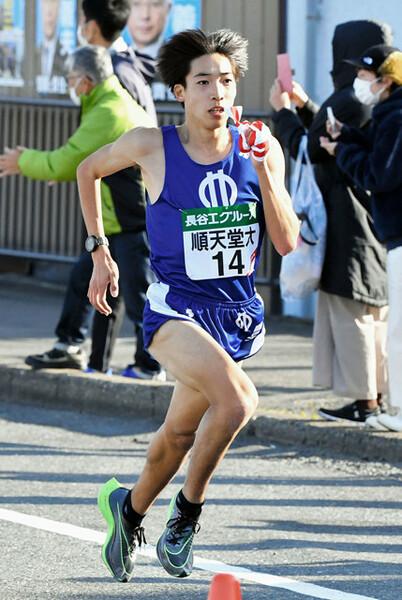 予選会、全日本大学駅伝と快走を見せた順天堂大期待のルーキー・三浦は、箱根でどんな走りを見せるか