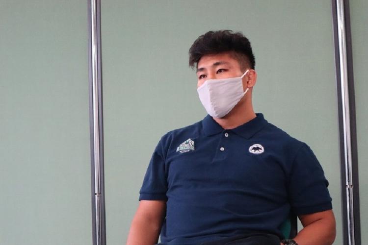 共同キャプテンの一人、亀井亮依選手
