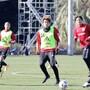 【サッカー】U-23日本男子代表合宿:安部柊斗、金子拓郎ら初招集組が意欲的なプレー