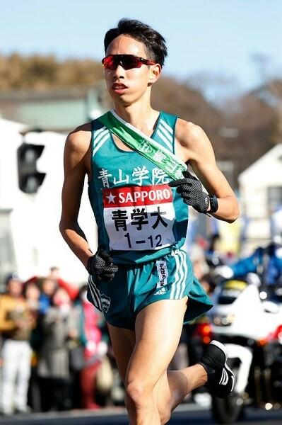 「キャプテンの意地を感じた」と西村さんが語った、青山学院大・森田の快走