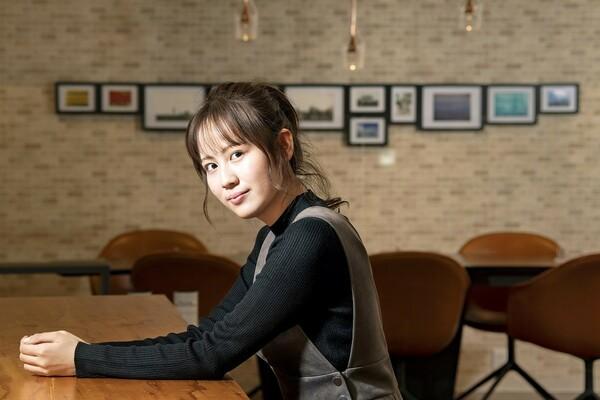 箱根駅伝に造詣が深い、NGT48の西村菜那子さん。通好みの選手選びに取材班から感嘆の声が漏れた