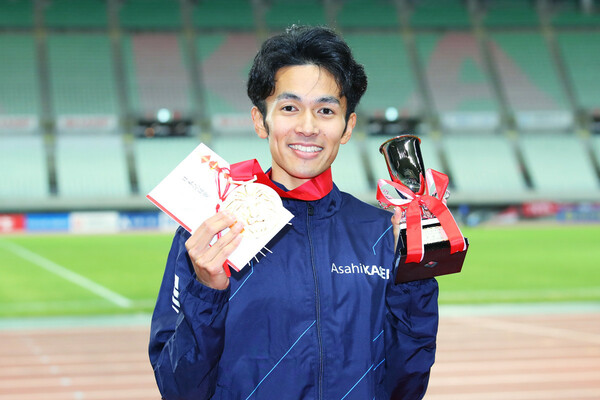 東京五輪の代表に内定したばかりの相澤晃の心に残る、箱根ランナーとは?
