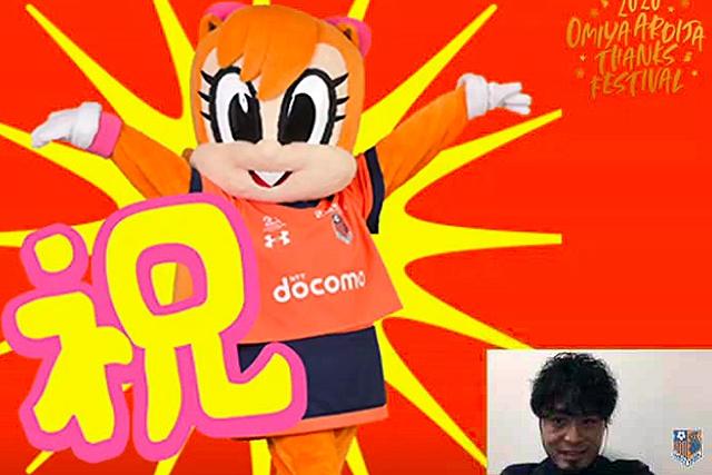 イベント当日が誕生日だった三門選手と富山選手には、多くのお祝いメッセージをいただきました